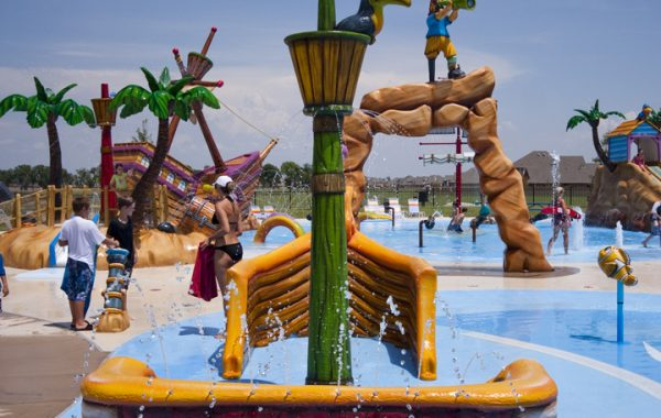 Pirate theme water play
